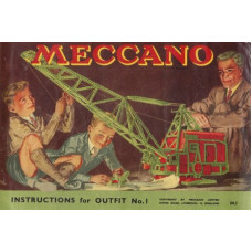 Meccano instructions for accessory outfit no. 1 manual