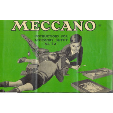 Meccano instructions for accessory outfit no. 1a manual