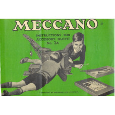 Meccano instructions for accessory outfit no. 2a manual