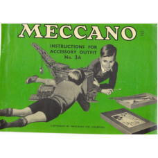 Meccano instructions for accessory outfit no. 3a manual