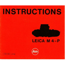 Instructions leica m4-p camera manual leitz english