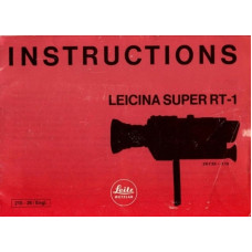 Instructions manual leicina super rt-1 ping
