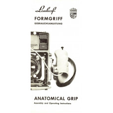 Linhof formgriff anleitung anatomical grip instructions
