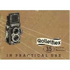 Rolleiflex 3.5 planar xenar practical use instruction