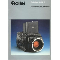 Rollei sl66e german instruction manual ping