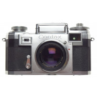 ZEISS IKON Contax IIIa rangefinder camera Sonnar 1:2/50 coated lens f=50mm cased